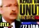 Kılıçdaroğlu kendi vaadini unuttu, böyle salladı!