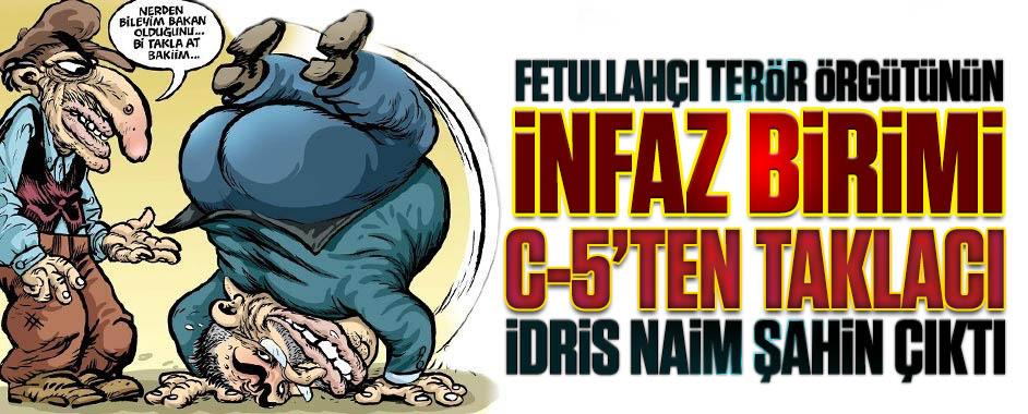 """Fetullahçı terör örgütünün infaz birimi C-5′ten """"taklacı"""" çıktı!"""