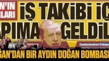 Erdoğan'dan bir Aydın Doğan bombası daha