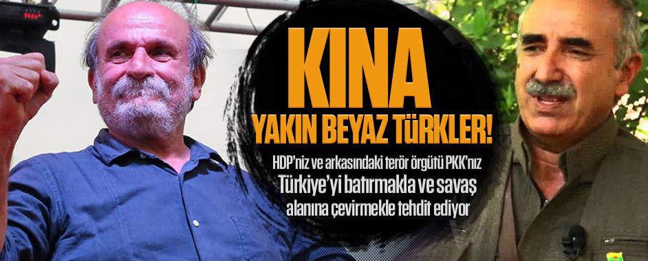Alın HDP'nizi ve PKK'nızı kına yakın beyaz Türkler!