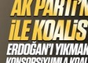 Ak Parti'nin CHP ile koalisyonu Erdoğan'ı yıkmak isteyen konsorsiyumla koalisyondur