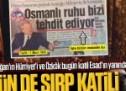 Hürriyet dün de Sırp katili üzerinden Türkiye'ye saldırıyordu!