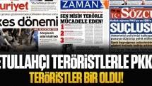 Fetullahçı teröristlerle PKK'lı teröristler bir oldu!