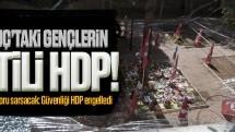 CHP'nin raporu sarsacak; Suruç'ta güvenliği HDP engelledi
