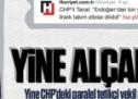 """Yine CHP-paralel örgüt-Aydın Doğan medyası kurgusu bir """"Saray"""" yalanı!"""