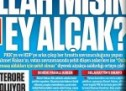 Ahmet Hakan alçağı PKK'lılar gibi şehitlerimize saldırmış!