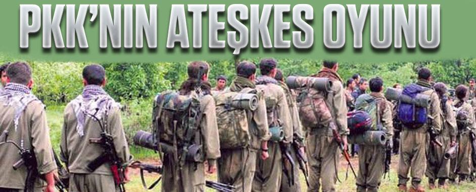 PKK'nın ateşkes oyunu