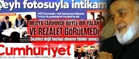 FETÖ gazetesi Cumhuriyet medya tarihinde görülmedik bir rezalete imza attı!