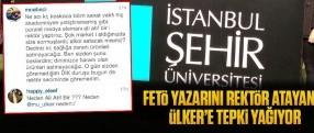 FETÖ yazarını rektör atayan Ülker'e tepki yağıyor!