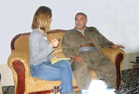 Ezgi Başaran Radikal'de PKK terör örgütüne hizmetinin ödülünü aldı!