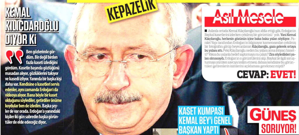 Ak Parti Kılıçdaroğlu'na haddini bildirdi; kaset darbesiyle iş başına gelmiş biri darbeden söz edemez