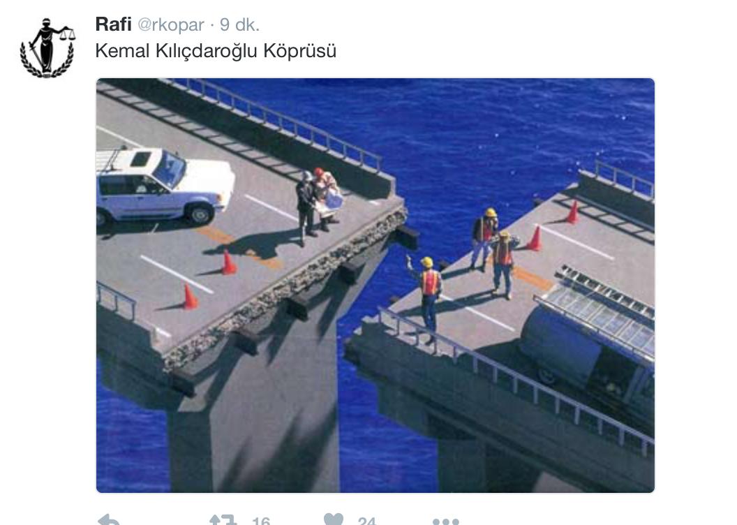 Sen ancak tarihe böyle geçersin Kılıçdaroğlu!