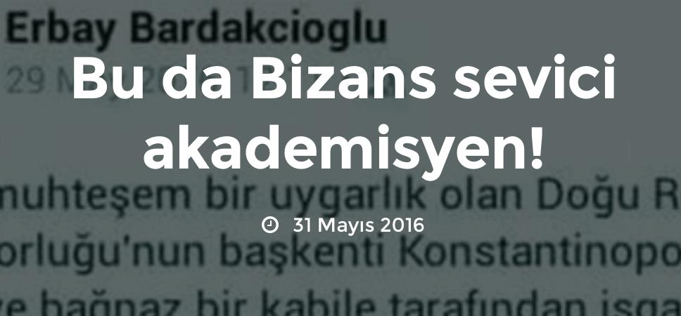 Bizans sevici hain açığa alındı