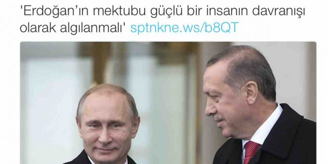 Rus haber ajansından Erdoğan övgüsü