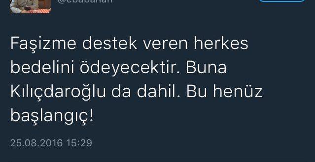 Kılıçdaroğlu'na saldırıyı FETÖ üstlendi!
