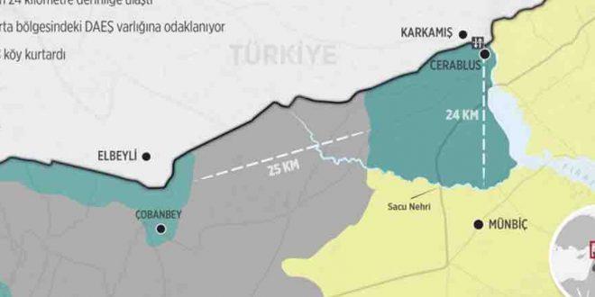 Ortadoğu'da haritayı ilk kez Türk çiziyor