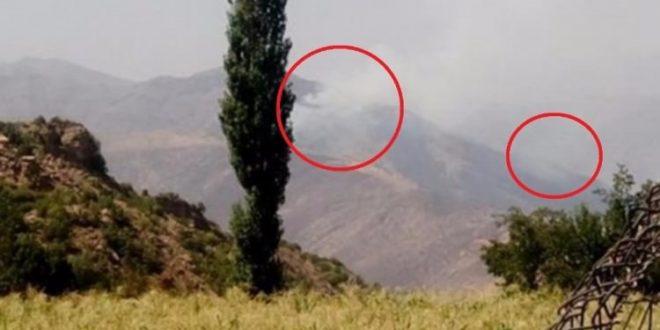PKK'nın kamplarını cayır cayır yakıyoruz