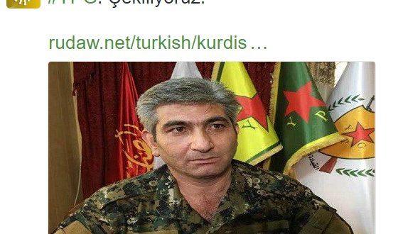 YPG tıpış tıpış çekiliyor HDP'liler mal mal bakıyor