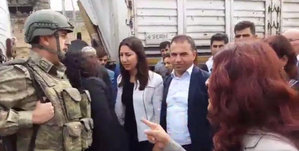 HDP'li teröristler askere saldırdı